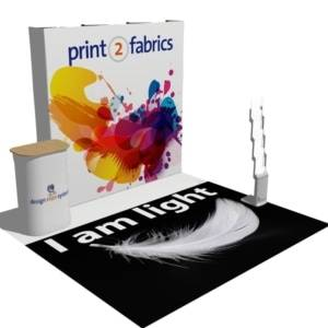 All in one fabric display kits