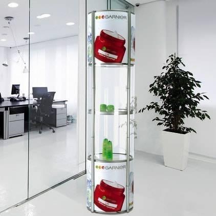Mobiele vitrine