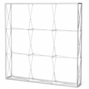 Pop-up frame met channelbars