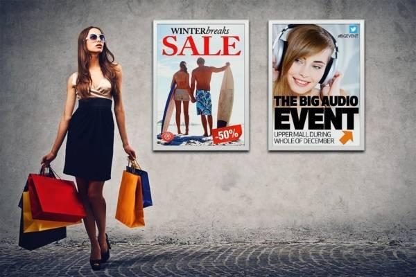Poster-Frame-Retail Oplossingen voor POS