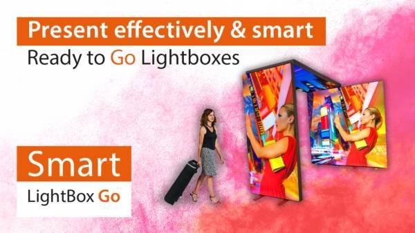 Smart LightBox Go   Aluminium LED Lichtkasten