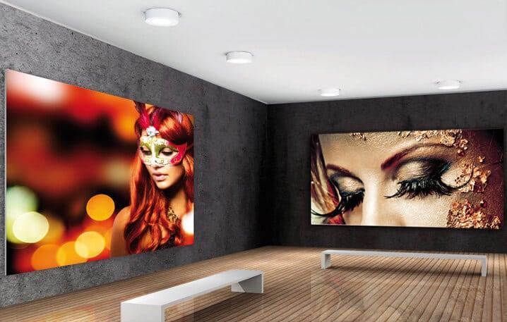 textile wall display